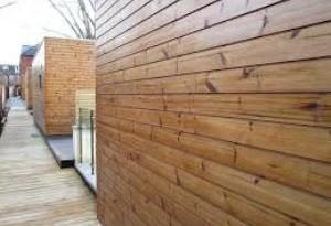نماهای چوبی و مشخصات آن شرکت بست چوب
