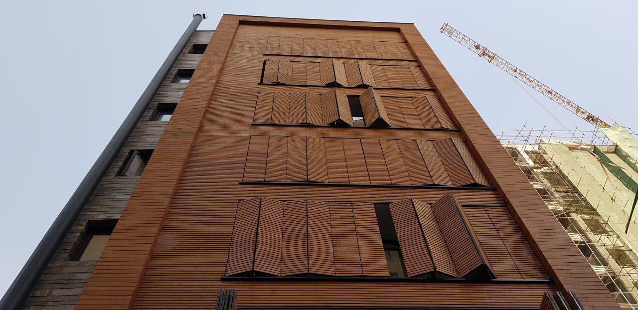 چوب نما ترموود فنلاندی   چوب نمای ساختمان